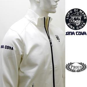 シナコバ [L] ジャケット メンズ  ゴルフ タウンウェア 背面キルティング コンビウオーマーモデル 21906048      sc KTf m 21253030 proud