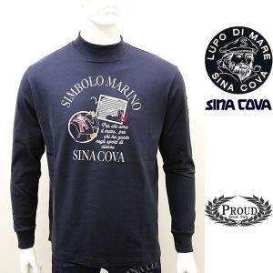 シナコバ アウトレット¥11000+税 [M]長袖Tシャツ ハイネックモデル]40909002      scTAfm|proud