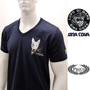 シナコバ 特選品¥11000+税 [LL]半袖Tシャツ ブルテリアモデル]70119086                scTSsm 16120580|proud
