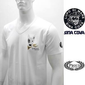 シナコバ 特選品¥11000+税 [LL]半袖Tシャツ ブルテリアモデル]70119089                scTSsm 16120580|proud