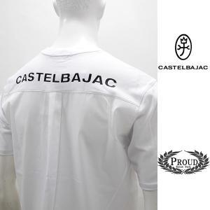 カステルバジャック ¥12000+税 [LL]半袖Tシャツ 背面ファブリックチェンジ バックショットモデル]70204047              jcTYm 21270 proud