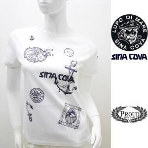 [シナコバレディース]¥14000+税 [9号]半袖Tシャツ SINACOVA GENOVA STYLE]80208090             scTIsl 18180550|proud
