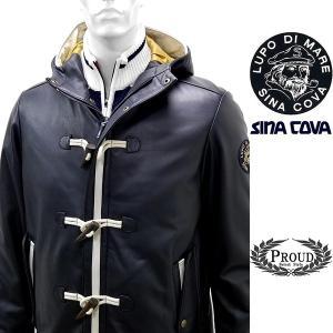 [シナコバ]¥160000+税 [L]レザージャケット 羊革ダッフルスタイル SINACOVA GENOVA] 80901049                scTIfm 18023920|proud