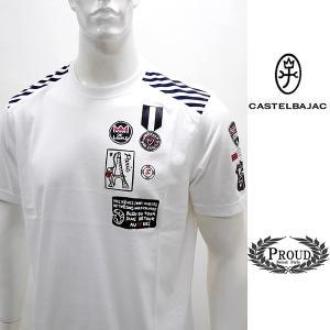 カステルバジャック ¥20000+税 [LL/50]半袖 Tシャツ メンズ KING OF WORLD PARIS Swiss Ctton Premium 90203023  jcTCsm 21070|proud