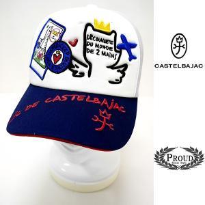 カステルバジャック ¥6800+税 [F]キャップ メンズ/レディース 刺繍デザインワーク 90203042               jsTCsm 21004|proud