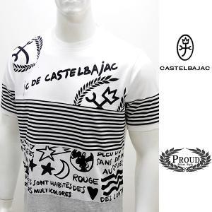 カステルバジャック ¥19000+税 [LL/50]半袖 Tシャツ メンズ カラーチェンジ JC DE CASTELBAJAC 90203065   jcTCsm 21170|proud
