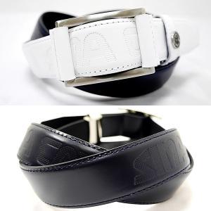 シナコバ ¥18000+税 [F]牛革 ベルト メンズ フリーウエストバックル ロゴプレスデザイン 90207010               scTCsm 19176010|proud