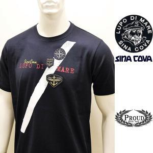 シナコバ ¥13000+税 [LL]半袖 Tシャツ メンズ フロントアイコンデザイン SINACOVA SARDEGNA 90207075                scTCsm 19110540|proud