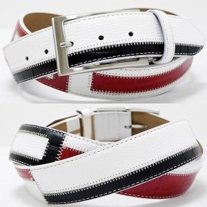 Original特選品¥14000+税 [F]牛革 ベルト メンズ カラーチェンジデザイン  日本製 90311001    aiTCs- ET 960003-40|proud