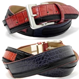 Original特選品¥14000+税 [F]牛革 ベルト メンズ カラーチェンジデザイン  日本製 90311003    aiTCs- ET 975003-RP|proud