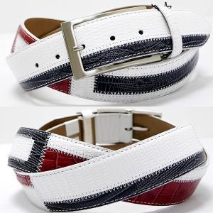 Original特選品¥14000+税 [F]牛革 ベルト メンズ カラーチェンジデザイン  日本製 90311004    aiTCs- ET 960573|proud