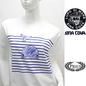 シナコバ レディース 特選品¥13000+税 [9号]半袖 Tシャツ フロントビューモデル 90319018-e            scTIsl   18180530-e|proud
