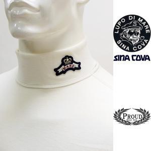 シナコバ ¥21000+税 [L]ウオーマー ハイネック シャツ メンズ 3ポイントデザイン MIP rich warmth SINACOVA SARDEGNA 90901042           scTCfm 19210060|proud