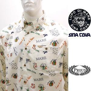 シナコバアウトレット ¥31000+税[L] 長袖 コール シャツ メンズ アニメプリントデザイン ...