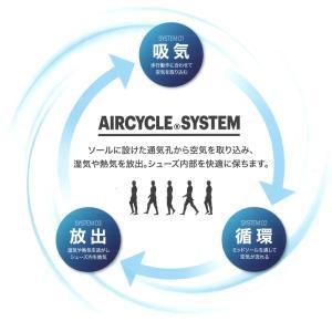アシックス 安全靴 1271A035 asics ウィンジョブ CP305 AC エアサイクル ローカット 通気性 マジック式 (送料無料)|proues|05