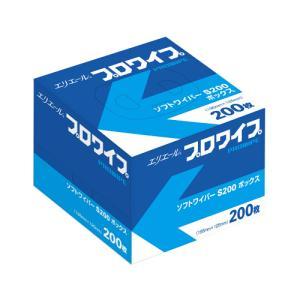 エリエール プロワイプ ソフトワイパー S200 200枚×72パック|proues