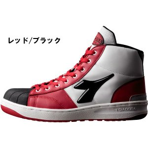 DIADORA UTILITY ディアドラ 安全靴 EMU エミュー セーフティスニーカー 作業用靴 ひも レースアップ ハイカット(送料無料)|proues|03