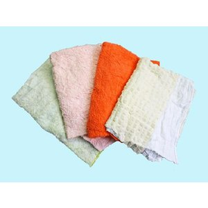 タオルウエス(リサイクル生地) 20kg梱包/4kg×5袋 布 メンテナンス 掃除 吸水|proues|02