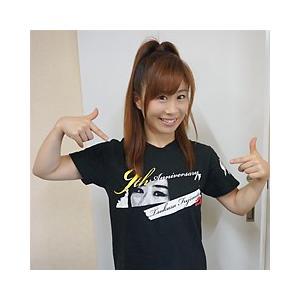 藤本つかさ 9th Anniversary Tシャツ|prowrestling