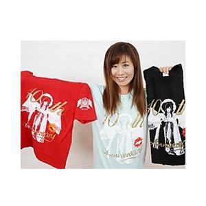 藤本つかさ 10th Anniversary Tシャツ|prowrestling
