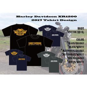 XR1200 オリジナルTシャツ|ps-craft
