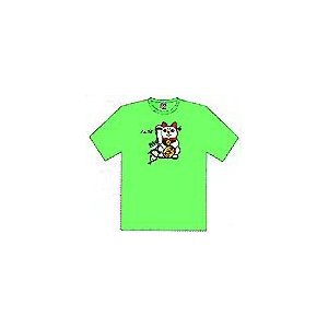 メガバス Cats Kill Worm Tシャツ L(グリーン)|ps-marin