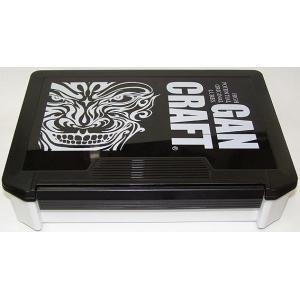 ガンクラフト バッグ ボックス フェイスロゴ JK ボックス / GAN CRAFT JK BOX (ブラック/ホワイト)|ps-marin