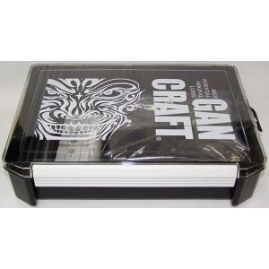 ガンクラフト バッグ ボックス フェイスロゴ JK ボックス / GAN CRAFT JK BOX  (クリア/ブラック) ps-marin