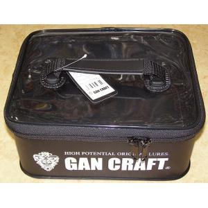 ガンクラフト バッグ ボックス / ガンポーチ M  GAN CRAFT (ブラック)|ps-marin