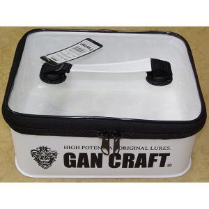 ガンクラフト バッグ ボックス / ガンポーチ M  GAN CRAFT (ホワイト)|ps-marin