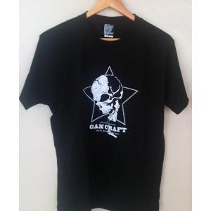 GAN CRAFT ガンクラフト Tシャツ (スタースカルTee)ブラックS|ps-marin
