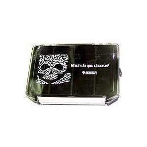 ガンクラフト LURE SKULL ルアースカルマルチ ボックス  3010(クリア/ブラック) ps-marin