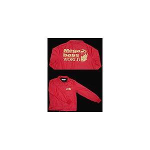メガバス megabass オールシーズン コーチジャケット M(レッド)|ps-marin