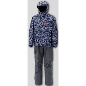 megabass デジカモ レイン スーツ ( グレイカモXL) メガバス雨具・カッパ