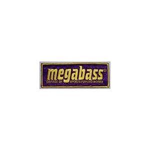 Megabass パープル( メガバス パープル) ワッペン