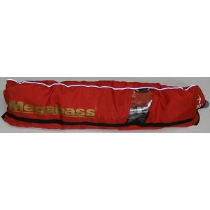Megabass LIFE SAVER(WEST)/ メガバス ライフセーバー RED(ウエスト) 自動膨張式 救命具/桜マーク付き|ps-marin