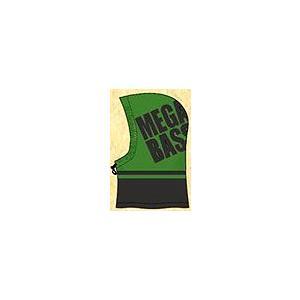 メガバス / megabass フーデッド ネックウォーマー(グリーン/ブラック) ps-marin