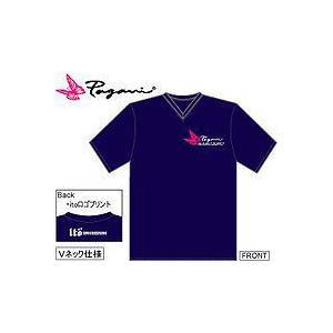メガバス megabass パガーニ Tシャツ L(ネイビー)|ps-marin