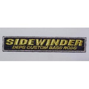 deps SIDE WINDER / デプス サイドワインダー ワッペンM 117×20mm|ps-marin