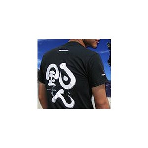 沖縄 手作り館工房 海人 / 釣人 Tシャツ (ブラック)M|ps-marin