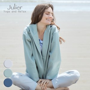 Julier ジュリエ ヨガウェア トップス ダンボールライトブルゾン B1913JUB007 ヨガ ブランド 2021年秋冬aw新作 psps