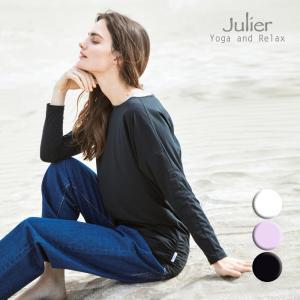Julier ジュリエ ヨガウェア トップス Tシャツ 長袖 カットソー ライトプライムロングスリーブプルオーバー B1913JUB029 ヨガ ブランド 2021年秋冬aw新作 psps