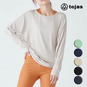 tejas テジャス ヨガウェア トップス Tシャツ tl91302 kalyana-tops  ヨガ トップス ヨガブランド かわいい おしゃれ 長袖|psps