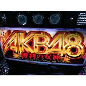 メダル不要機付 ぱちスロAKB48 勝利の女神(パチスロAKB48)(サイドタンク無し) 中古パチスロ実機(スロット実機) pstock 02