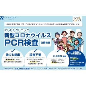 にしたんクリニック 新型コロナウイルス感染症 PCR検査 唾液採取用キット 検査 pcr 検査結果通知書のみ