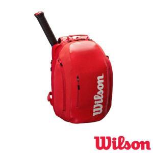 送料無料◆WILSON◆2019年1月発売◆SUPER TOUR BACKPACK RED スーパー...