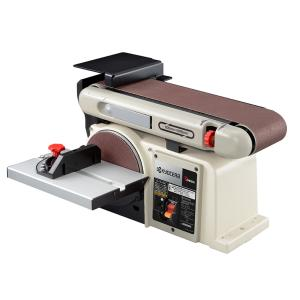 【リョービ電動工具 ベルトディスクサンダー BDS-1010】 ●木材、非鉄金属の粗削り・仕上げに ...