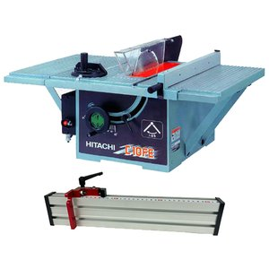 (セット特別価格)日立電動工具 テーブル丸ノコ+マイターゲージフェンスセット ptools