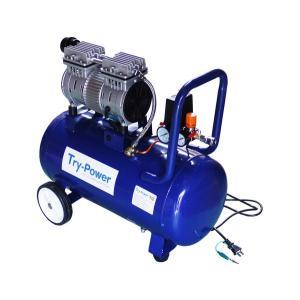 トライパワー電動工具 低騒音 エアーコンプレッサ 1馬力(メーカー直送、代引き不可)|ptools