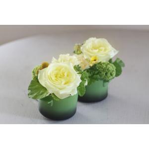 【クール便送料別】ココットアレンジメント「vanilla cocotte」|pualani-flowers